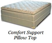 Comfort Support Pillow Top