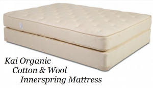 Kai Organic Cotton & Wool Innerspring Mattress