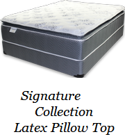 Signature Collection Latex Pillow Top