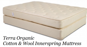 Terra Organic Cotton & Wool Innerspring Mattress