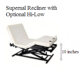 Supernal Recliner with Optional Hi-Low