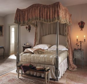 Bespoke four poster bed